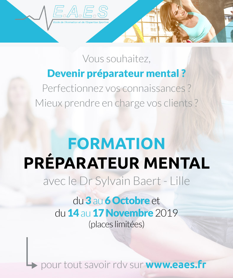 Formation Préparation Mentale - Post Facebook